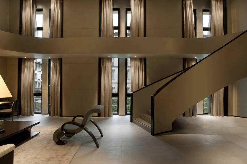Armani hotel milano italian allure travel for Hotel armani milano