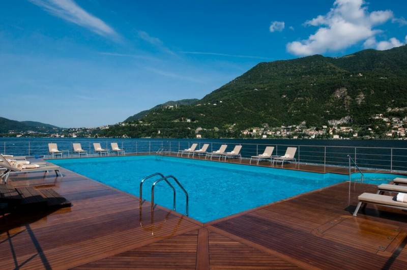 Casta diva resort spa italian allure travel - Casta diva lake como italy ...