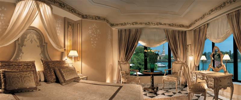 The Beautiful And Airy Master Bedroom Of The Palladio Suite With Views