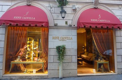 Shopping in Italy Rene Caovilla