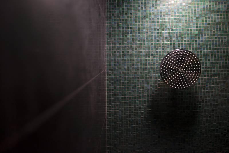 Villa Ferida - Praiano (Emerald Suite bathroom details)