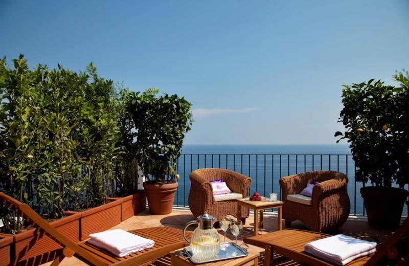 Villa Ferida - Praiano (Ruby Suite terrace)