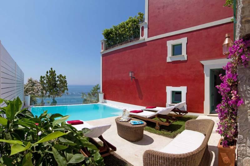 Villa Ferida - Praiano (pool area)