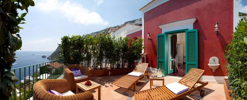 Villa Ferida - Praiano (terrace with a view)