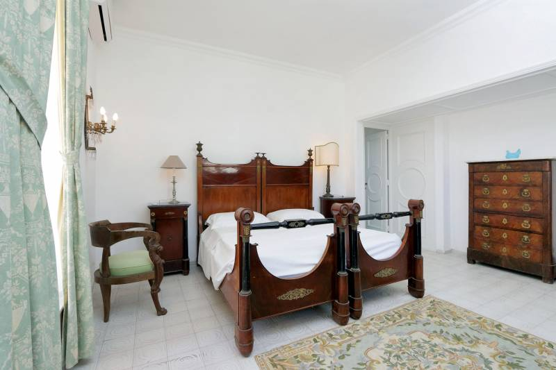 Villa L'Oleandro - Capri bedroom