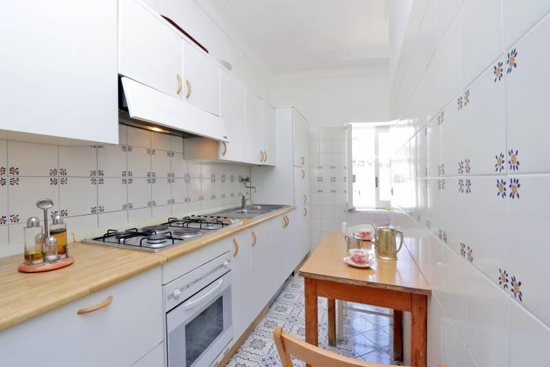 Villa L'Oleandro - Capri kitchen