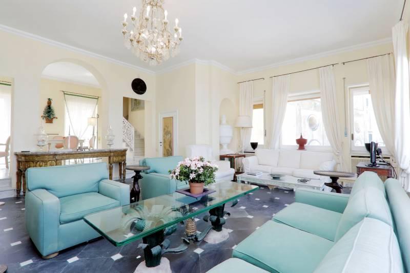 Villa L'Oleandro - Capri living area