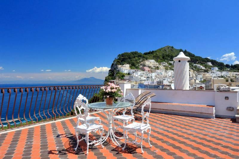 Villa L'Oleandro - Capri panoramic terrace