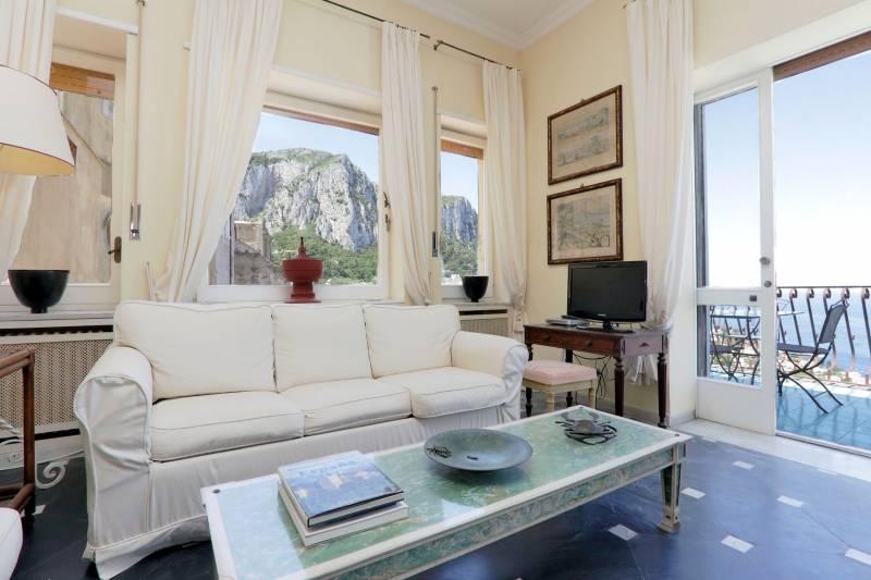 Villa L'Oleandro - Capri relaxing room