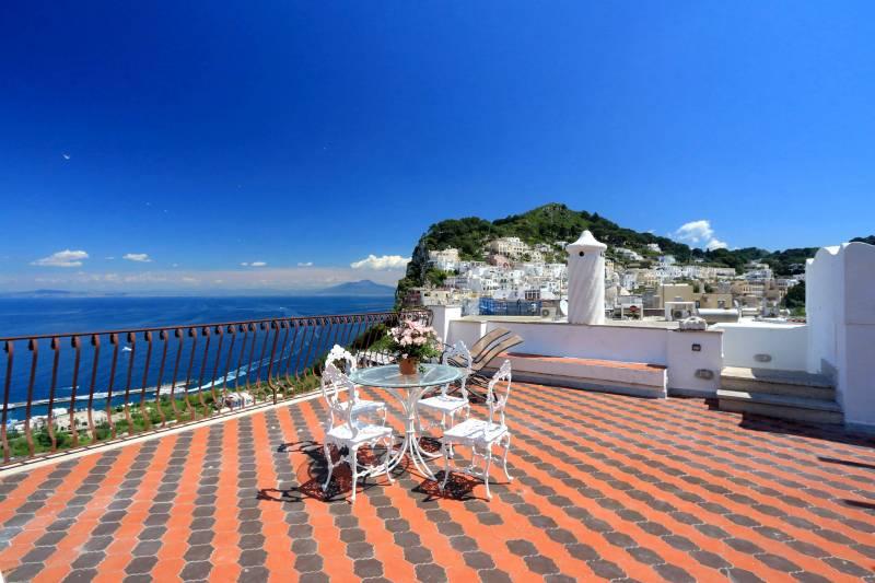 Villa L'Oleandro - Capri terrace