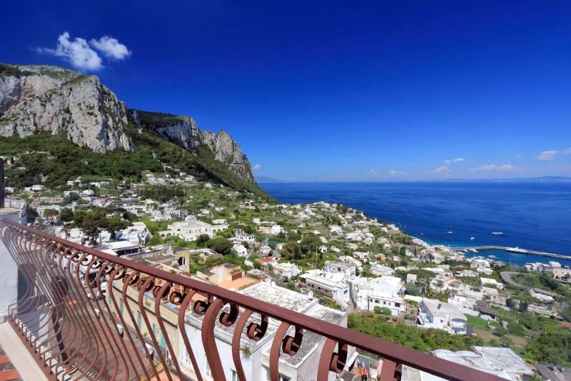 Villa L'Oleandro - Capri views