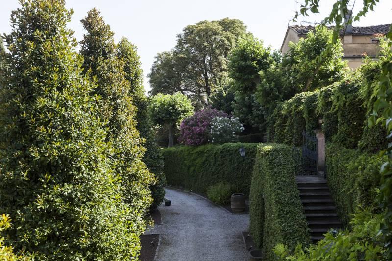 Villa Medicea of Montevettolini gardens