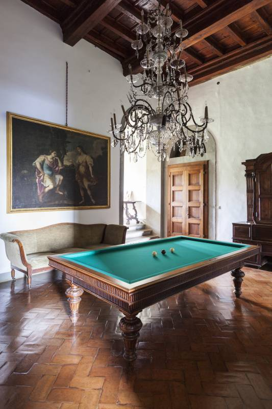Villa Medicea pool room