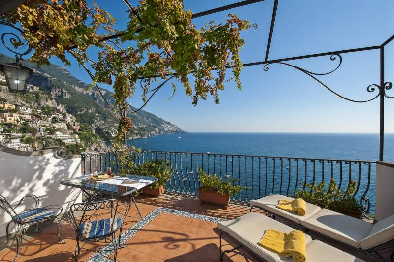 Hotel Miramare Positano - Panoramic Terrace Views