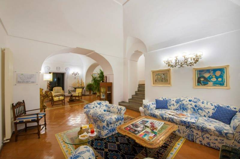 Hotel Miramare Positano - relaxing rooms