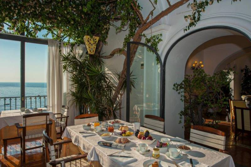 Hotel Miramare Positano - Breakfast