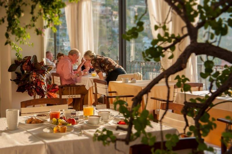 Hotel Miramare Positano - super breakfasts