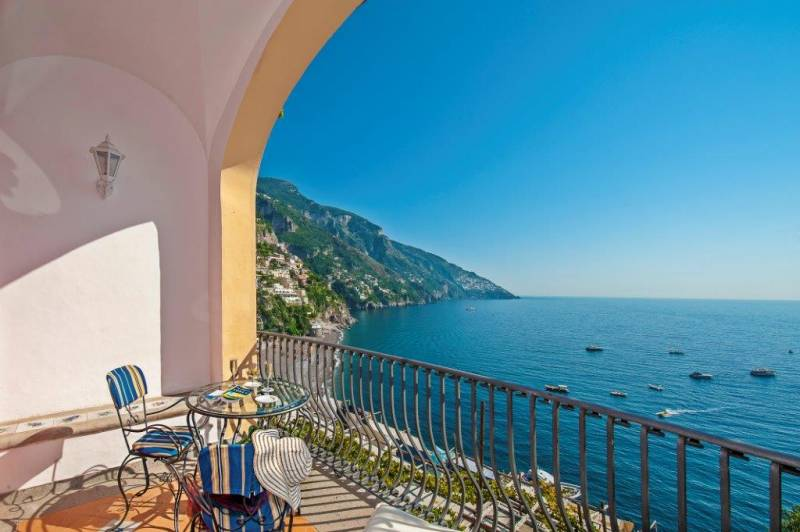 Hotel Miramare Positano - Panoramic views from every room