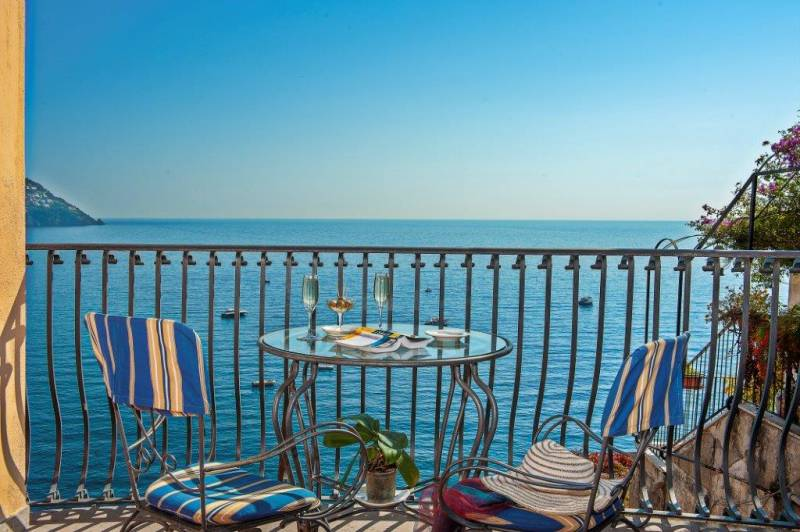 Hotel Miramare Positano - Magnificent Terrace Views