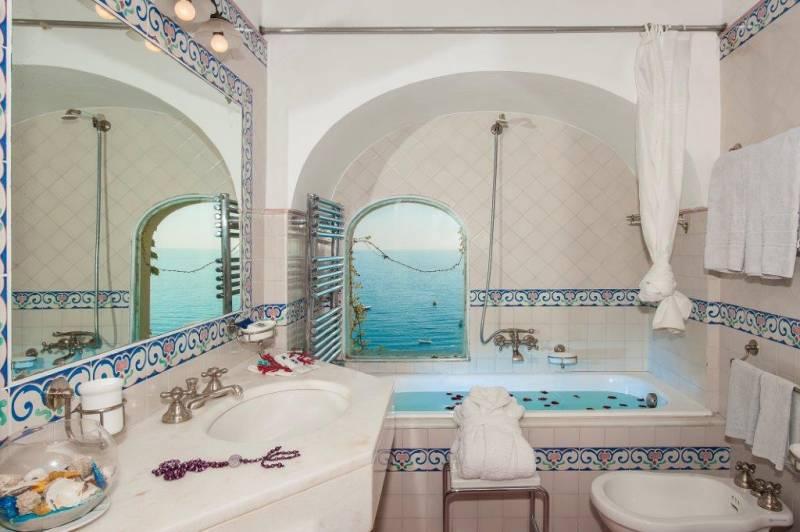 Hotel Miramare Positano - Special Room Bathroom