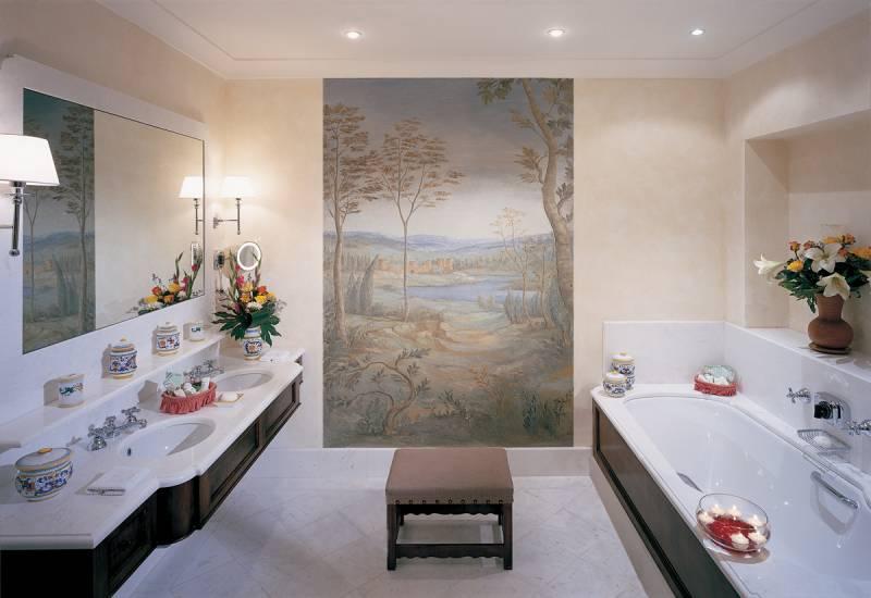 Bathroom at The Michelangelo Suite
