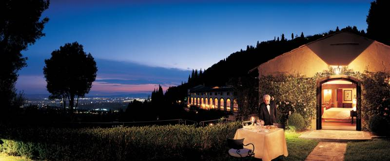 Dinner at the Limonaia Suite private garden