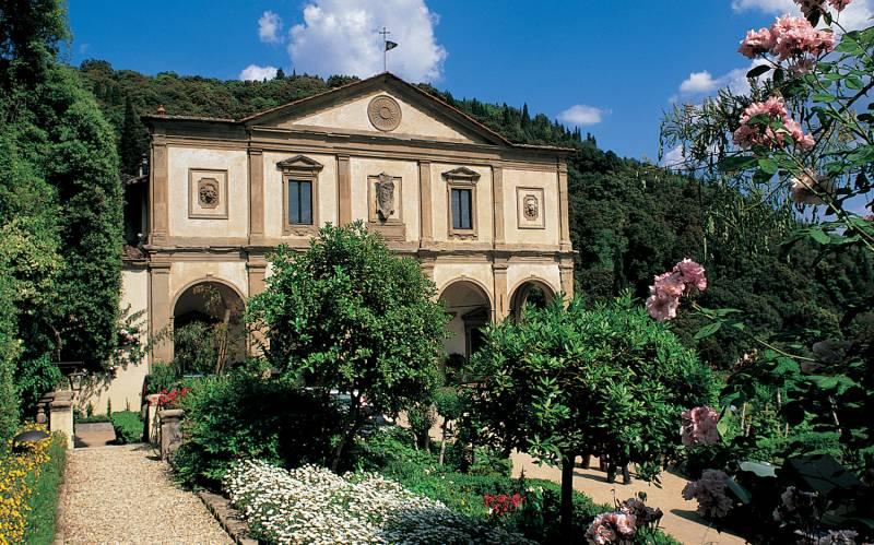 The Villa San Michele Facade