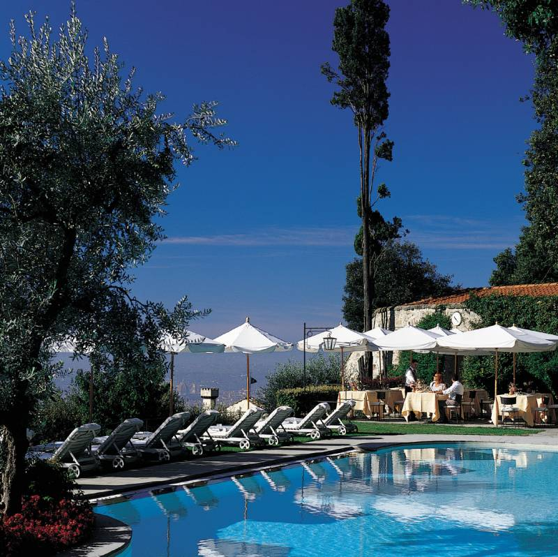 Panoramic heated Swimming Pool