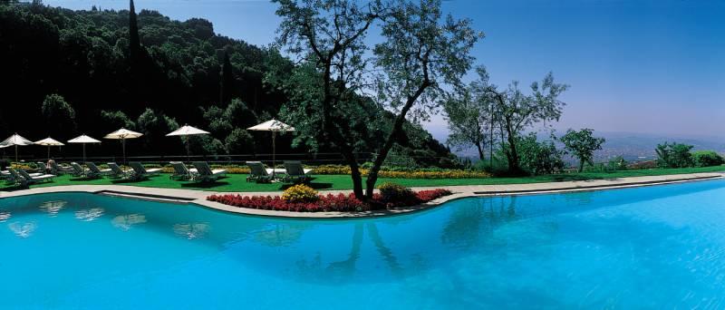 The panoramic pool