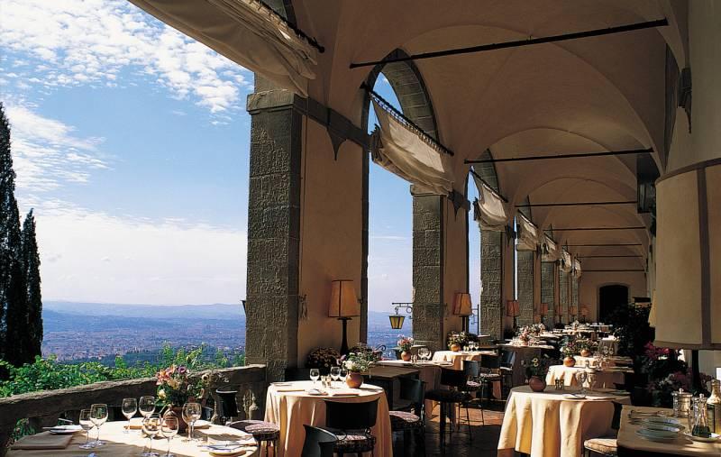 The Loggia Restaurant.