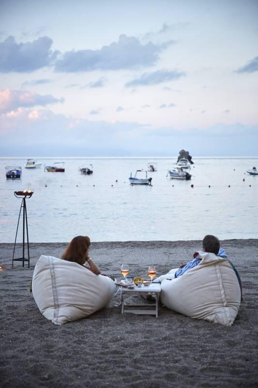 Sunset Aperitivo on the beach