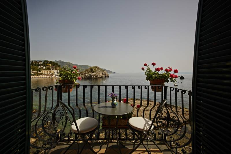 The stunnig sea view that can be enjoyed from the rooms