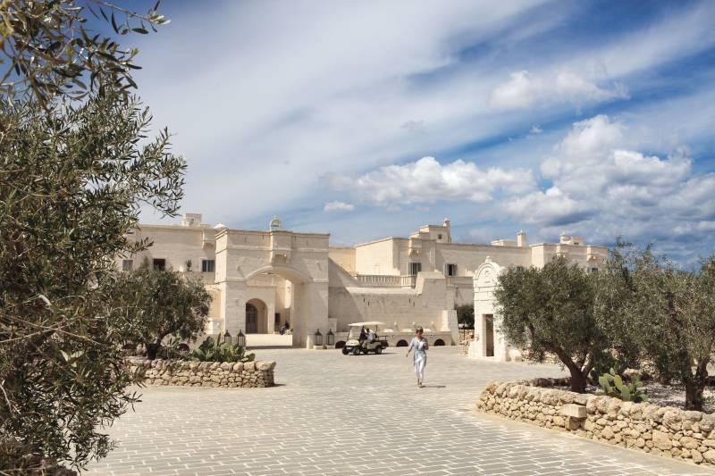 Borgo Egnazia Entrance