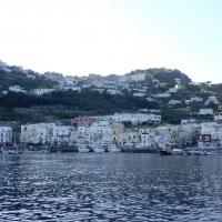 Bay entrance- Marina Grande Capri Amalfi Coast Italy