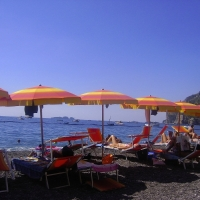 Beaches in Positano- Amalfi Coast Italy