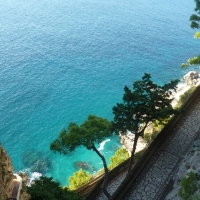 Capri- views on the Amalfi Coast Italy