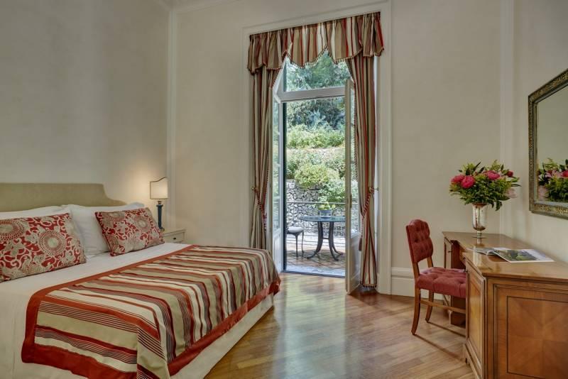 Double Classic Room at Villa Flora