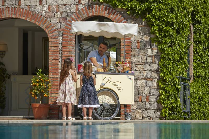 Gelateria by the Pool