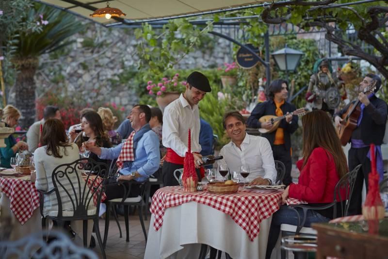 Sicilian Trattoria at Belmond Grand Hotel Timeo