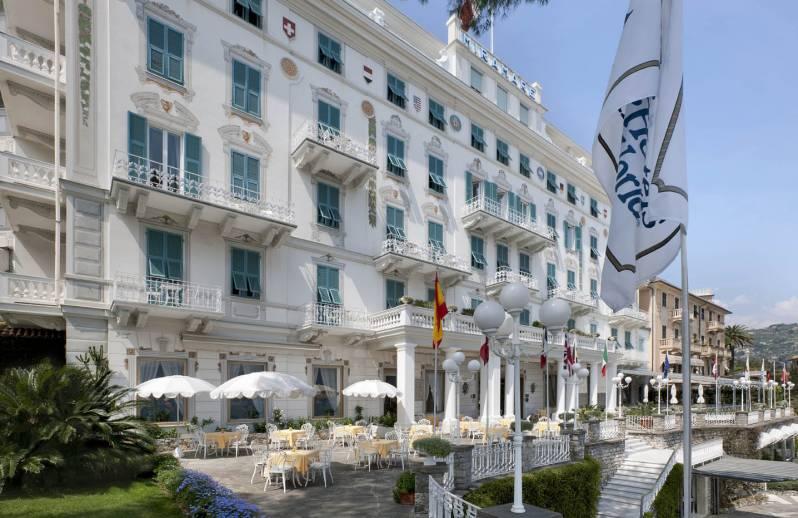 Exterior of the Grand Hotel Miramare