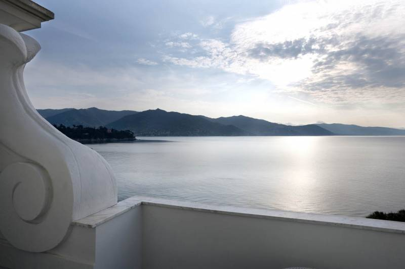 Sea view room panorama