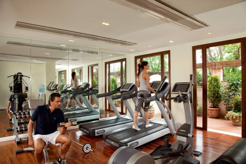 The Fitness Centre, equipped with the latest training machines