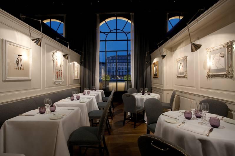Borgo San Jacopo Restaurant Hotel Lungarno Florence