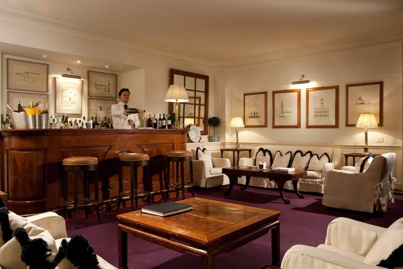 Lounge Bar Hotel Lungarno Florence