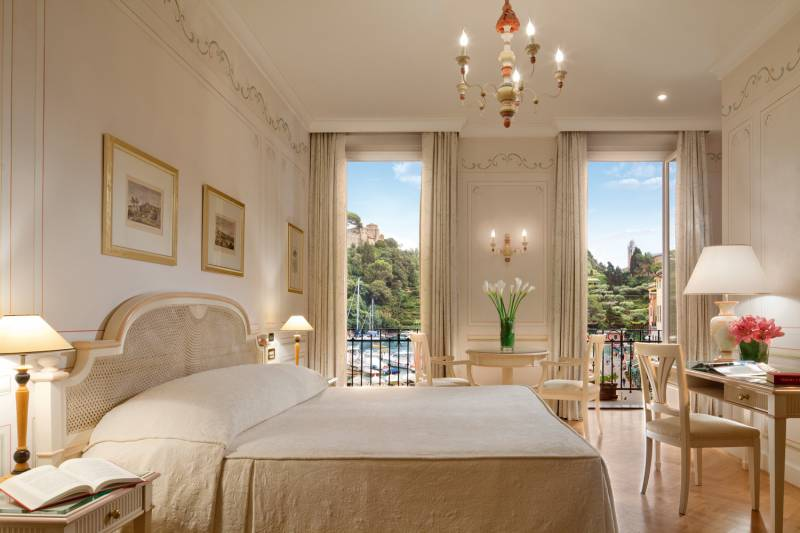 Junior Suite at Splendido Mare with Sea view and balcony