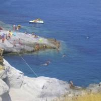 Remote swimming holes- Ponza, Lazio