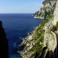 Scenic walks along the coastline- Capri