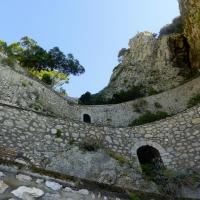 Walks around marina Piccola- Capri