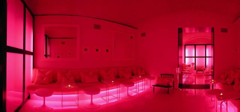 J K Pink Room for cocktails