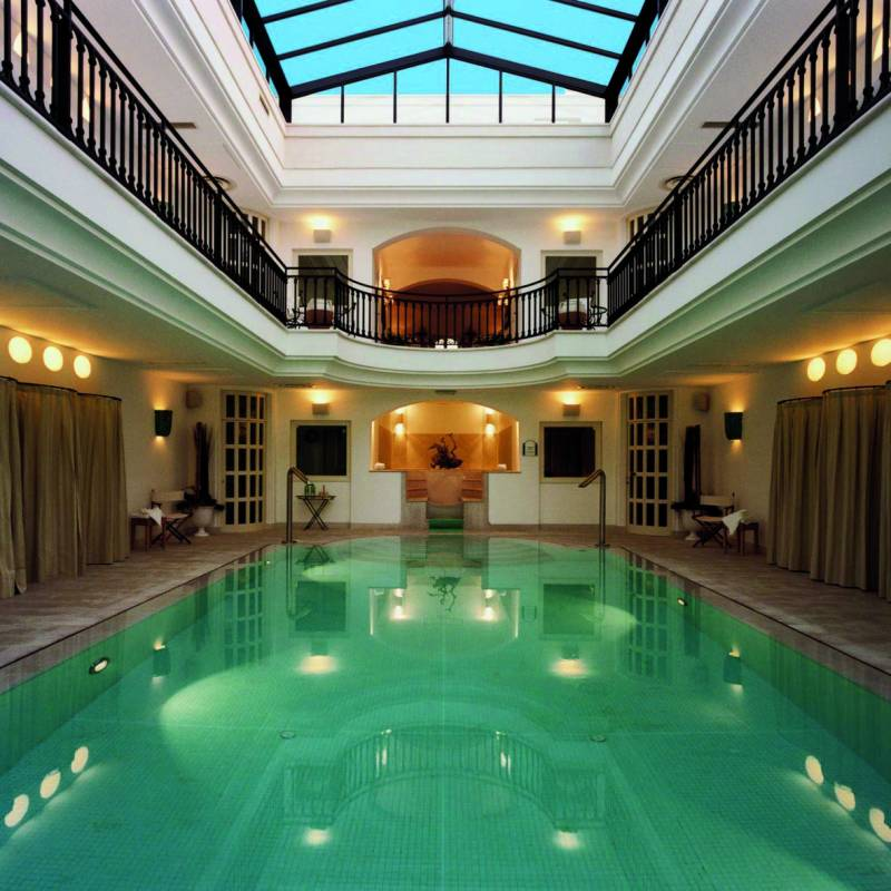 Indoor Pool Spa